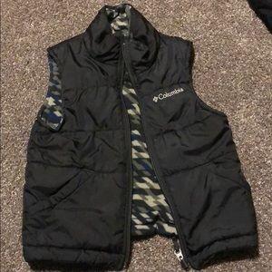 Boys Columbia reversible Vest